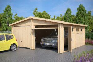 Træ Garager
