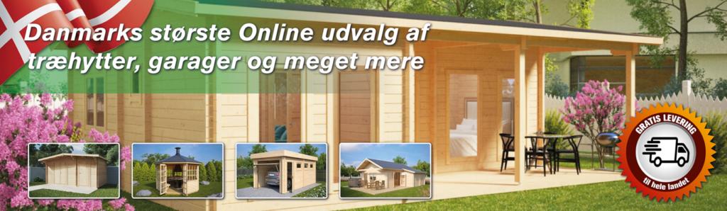 Træhytter24 er Danmarks største online forretning med træhytter.