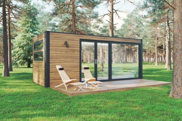 Miljøvenligt TINY HOUSE BLISS 13,2 M2 / 6 x 2,5 m
